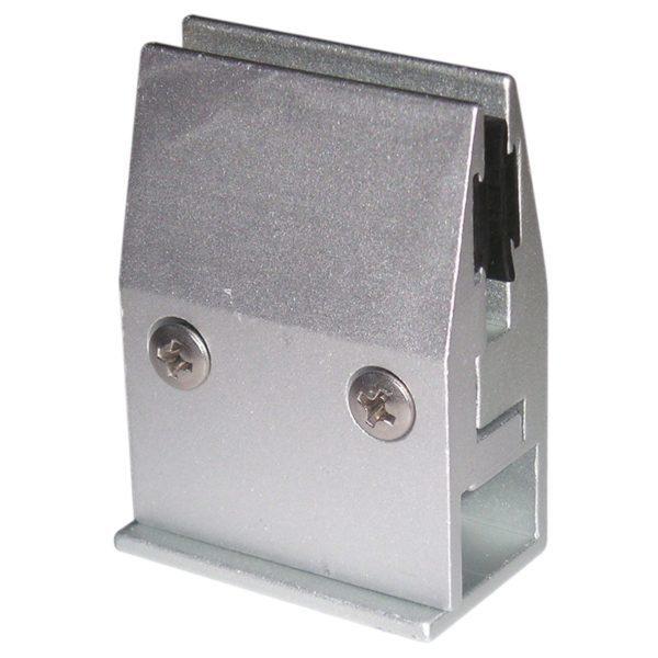Soporte Fijacristales Aluminio