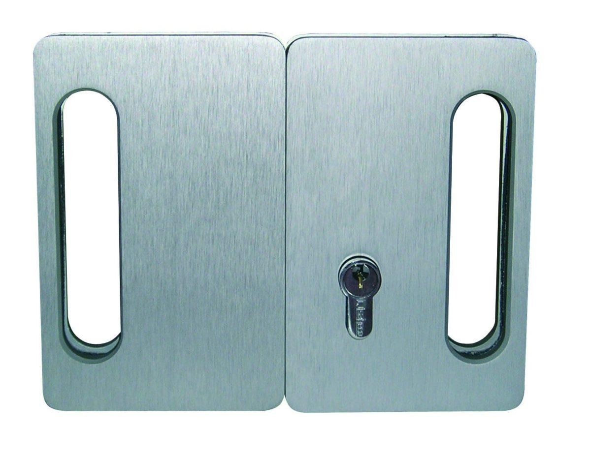 Cerradero Aluminio para Cerraja con gancho