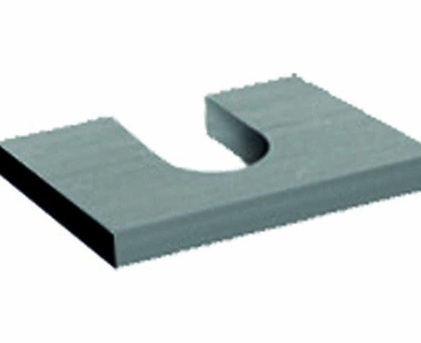 Separador Aluminio para Vidrio Fijo