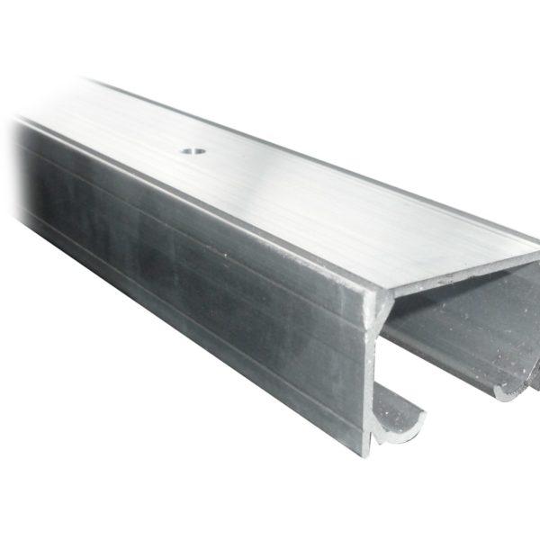Perfil aluminio doble carril para 85kg.