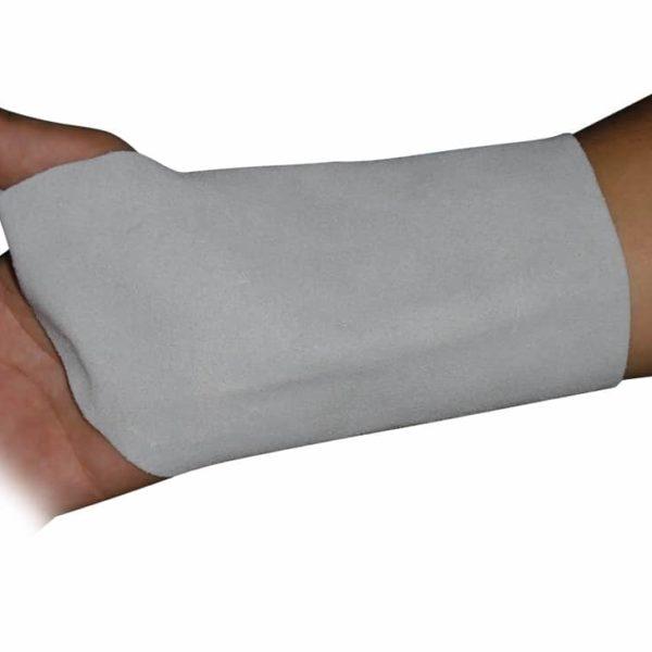 Muñequera de cuero con Protección en la palma