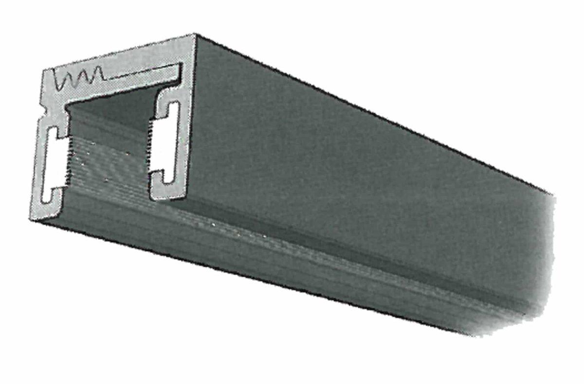 Perfil Aluminio inferior con Burlete