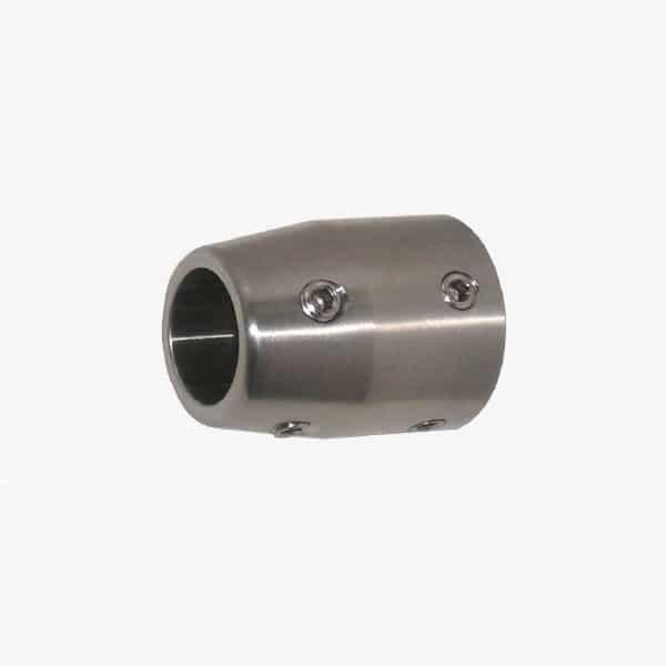 soporte tubo pared 25mm