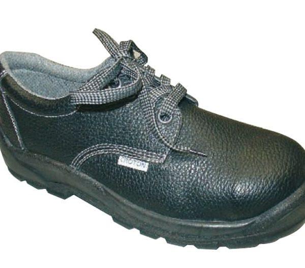 Zapato de seguridad en piel y punta de acero