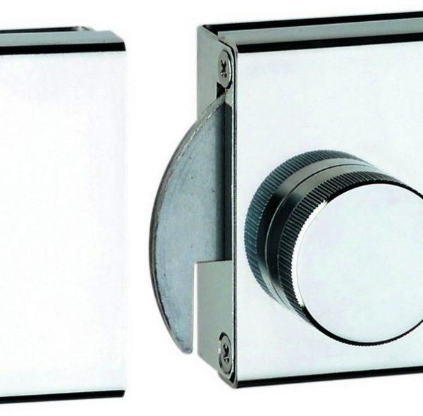 Pestillo sencillo sin muesca vidrio a vidrio