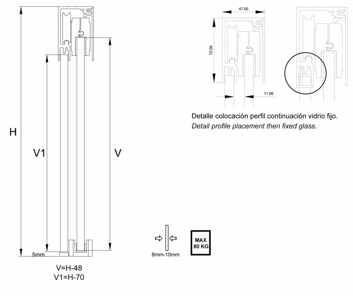Detalle fabricación E70