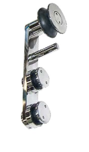 Corredera desplazada acero inox sistema 910
