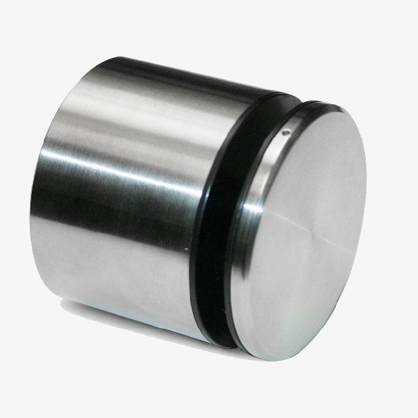 Botón acero inox 60mm