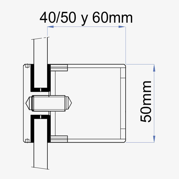 medidas boton fijacion 50mm