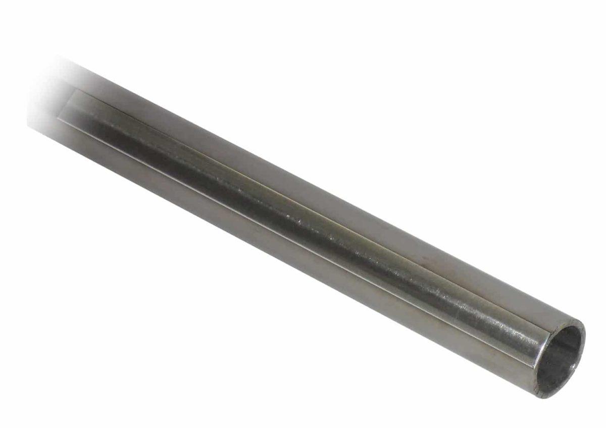 Barra Acero Inox Brillo Redonda 19mm