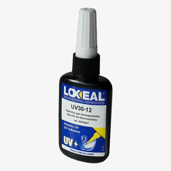 Pegamento UV plásticos LOXEAL 30/12