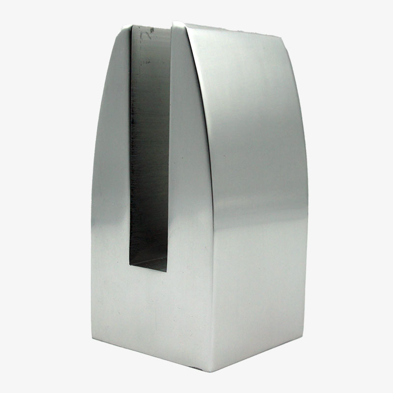 pinza aluminio sin taladro