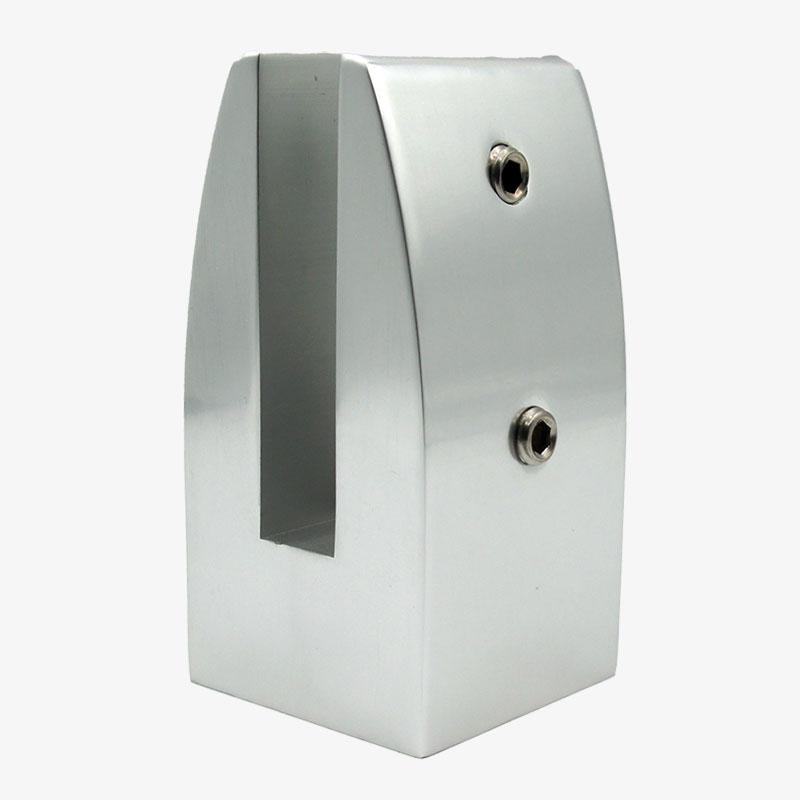 pinza aluminio cuadrada