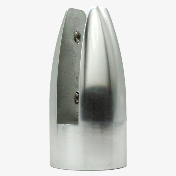 Pinza aluminio sin muesca