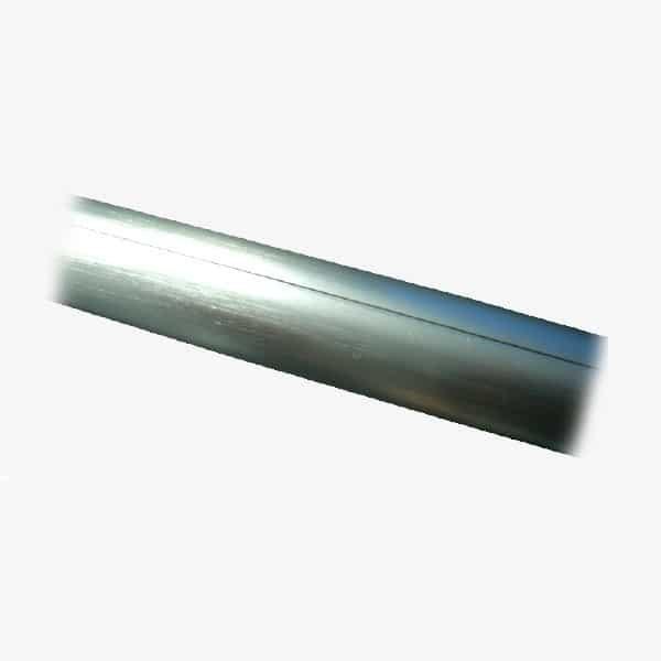 Perfil de aluminio media caña